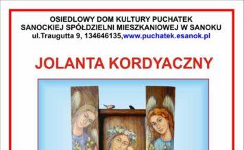 Malarstwo Jolanty Kordyaczny. Wernisaż 7 grudnia w ODK Puchatek