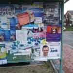 Plakaty wyborcze nadal wiszą i szpecą miasto