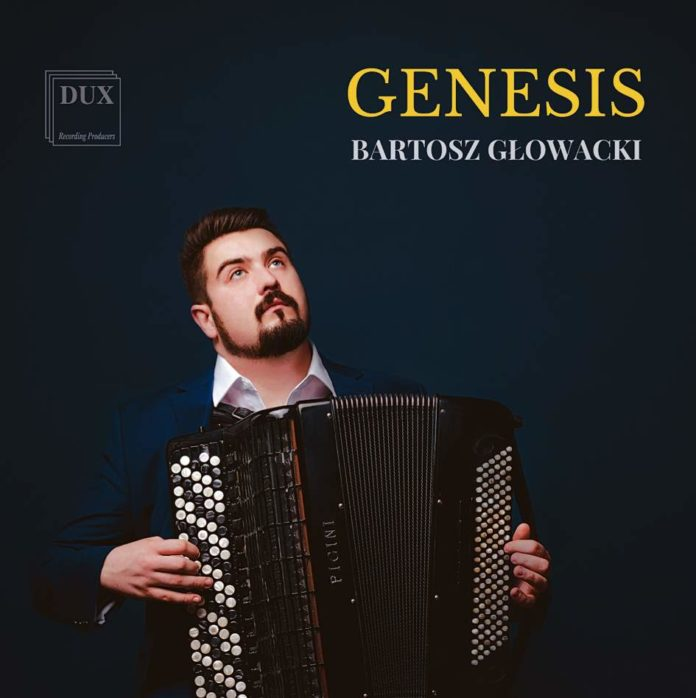 """Bartosz Głowacki """"Genesis"""" - akordeonista, absolwent Państwowej Szkoły Muzycznej w Sanoku wydaje swoją pierwszą płytę"""