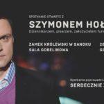 Spotkanie otwarte z Szymonem Hołownią
