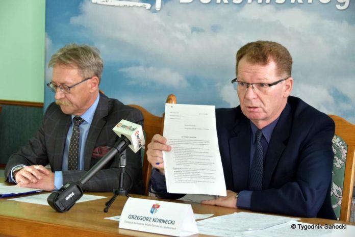 Konferencja prasowa dotycząca zaistniałej sytuacji w Przedszkolu nr 3