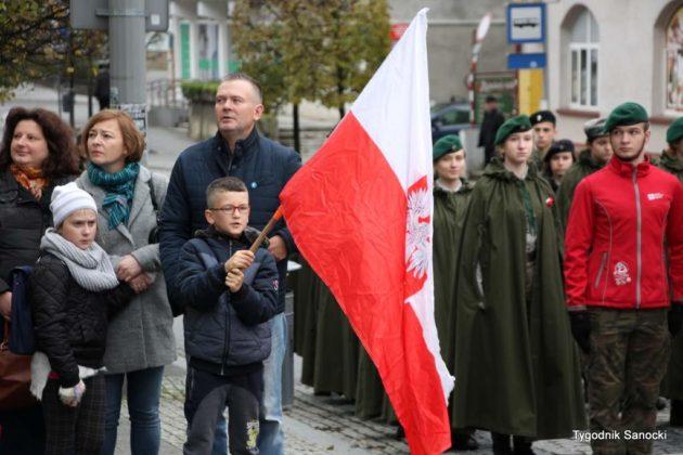 marsz niepodległości 136 630x420 - Sanok w rocznicę odzyskania niepodległości