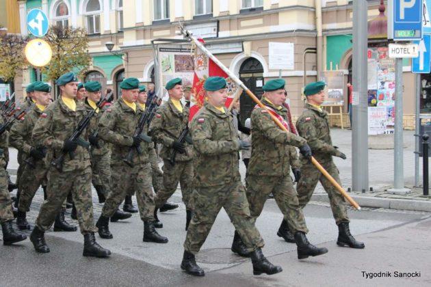 marsz niepodległości 17 630x420 - Sanok w rocznicę odzyskania niepodległości