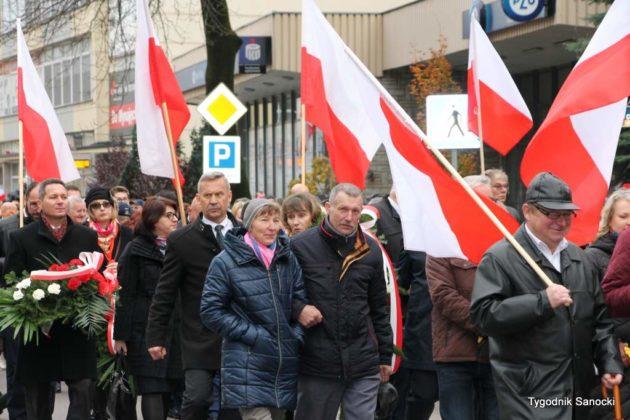 marsz niepodległości 39 630x420 - Sanok w rocznicę odzyskania niepodległości