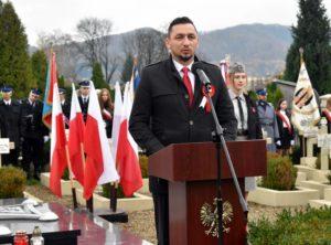 niepodległa uroczystości 1 300x222 - Sanok w rocznicę odzyskania niepodległości