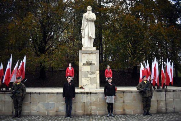 niepodległa uroczystości 2 629x420 - Sanok w rocznicę odzyskania niepodległości