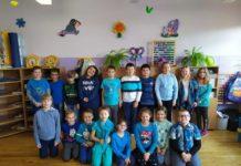 30. rocznica Konwencji oprawach dziecka - SP nr4 naniebiesko