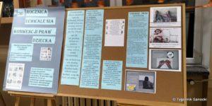 30. rocznica Konwencji o prawach dziecka - SP nr 4 na niebiesko