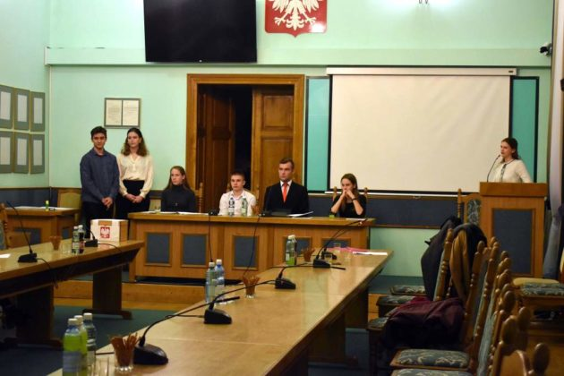 rada5 630x420 - Młodzieżowa Rada Miasta Sanoka - II posiedzenie