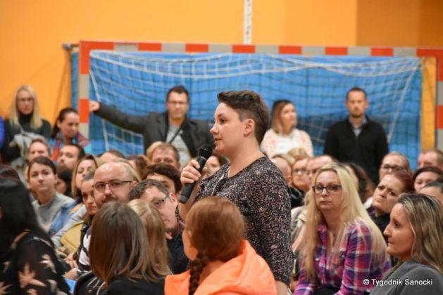 spotkanie 32 629x420 - Spotkanie z rodzicami dzieci z ogniska zachorowań na Salmonellę