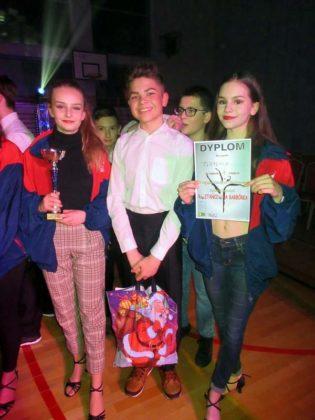 """Dziecięca Formacji Tańca Towarzyskiego """"FLAMENCO"""" wytańczyła II miejsce podczas VI Przeglądu Dziecięcych i Młodzieżowych Zespołów Tanecznych """"Roztańczona Barbórka"""" w Sieniawie"""