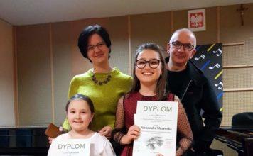 Laura Pietryka i Aleksandra Murawska Aleksandra na podium! V Międzynarodowy Konkurs Pianistyczny wTrzcianie