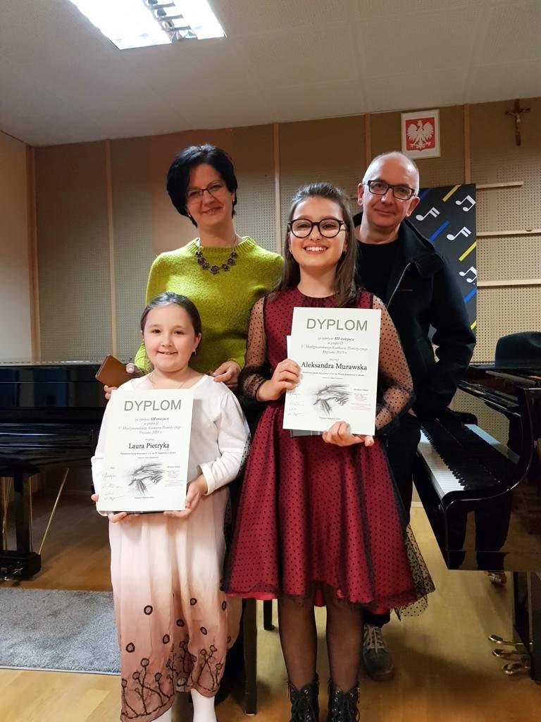 Trzciana 2019 - Laura Pietryka i Aleksandra Murawska na podium! V Międzynarodowy Konkurs Pianistyczny wTrzcianie