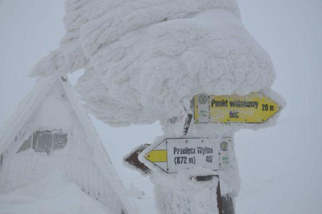 Zima w Bieszczadach 2 632x420 - Zima w Bieszczadach