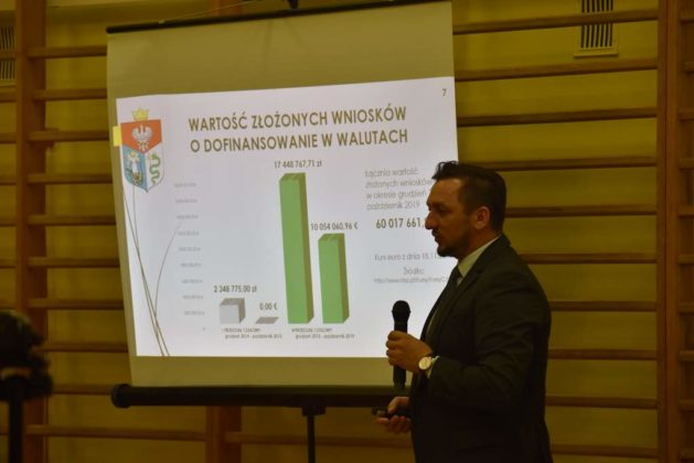 błonie spotkanie z mieszkańcami 15 629x420 - Przychodnie powinny zostać miejskie. Spotkanie burmistrza z mieszkańcami dzielnicy Błonie