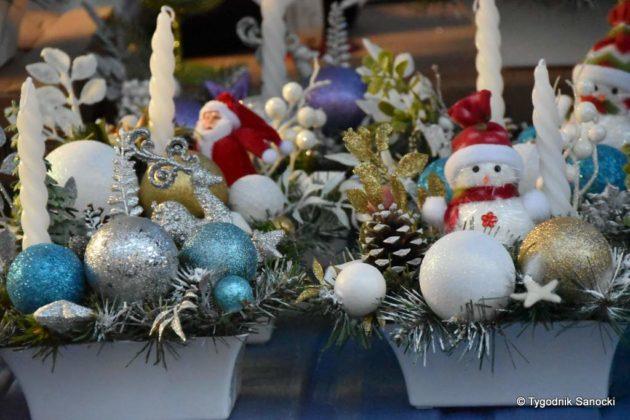 jarmark adwentowy 2 630x420 - Magia świąt Bożego Narodzenia - trwa Jarmark Adwentowy na sanockim Rynku FOTORELACJA