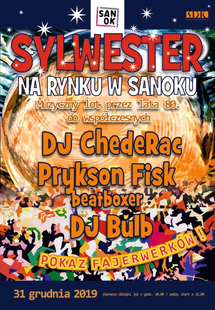 sylwester rynek plakat www 712x1024 - Tygodnik Sanocki