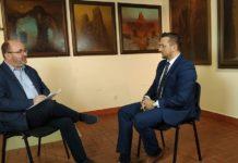Burmistrz Tomasz Matuszewski gościem Telewizji Obiektyw - materiał filmowy
