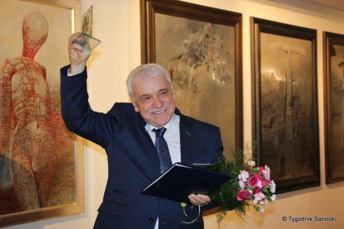 Wiesław Banach otrzymał tytuł Honorowego Obywatela Miasta Sanoka -