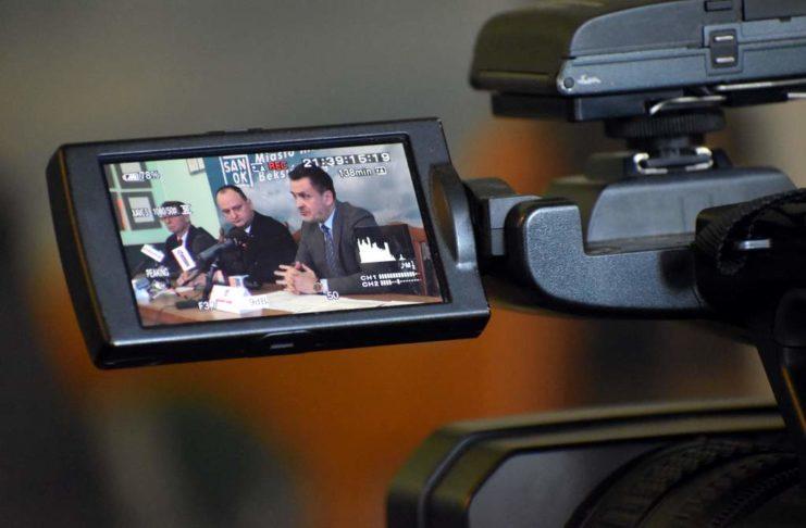Miasto zachowało płynność finansową konferencja prasowa w związku z restrukturyzacją Podkarpackiego Banku Spółdzielczego 741x486 - Tygodnik Sanocki