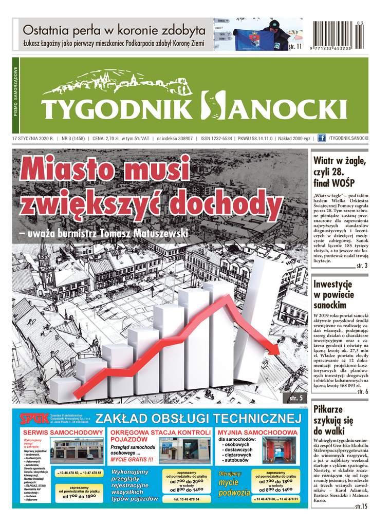 Miasto musi zwiększyć dochody - nowy Tygodnik Sanocki już w sprzedaży