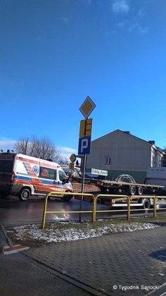 Uwaga Wypadek na ulicy Lipińskiego duże korki 1 236x420 - Uwaga! Wypadek na ulicy Lipińskiego - duże korki