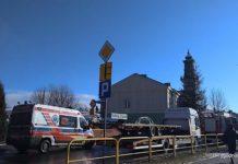 Uwaga Wypadek na ulicy Lipińskiego duże korki 2 218x150 - Tygodnik Sanocki