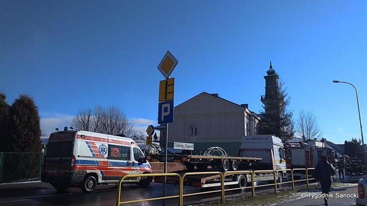 Uwaga Wypadek na ulicy Lipińskiego duże korki 2 747x420 - Uwaga! Wypadek na ulicy Lipińskiego - duże korki