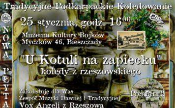 Tradycyjne Podkarpackie Kolędowanie w Muzeum Kultury Bojków