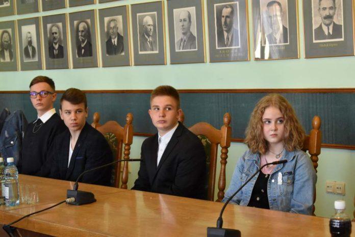 IV Sesja Młodzieżowej Rady Miasta Sanoka