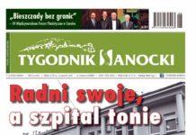 Radni swoje, a szpital tonie - nowy Tygodnik Sanocki już jutro w sprzedaży!
