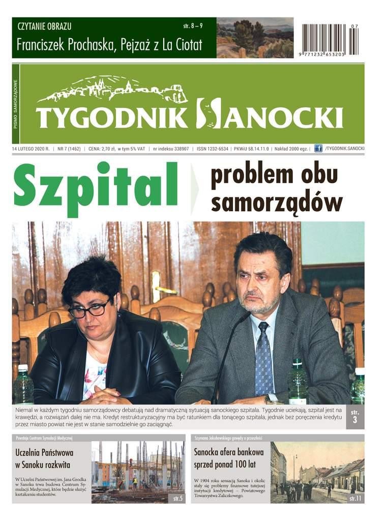 Szpital, problem obu samorządów - nowy Tygodnik Sanocki już w sprzedaży!