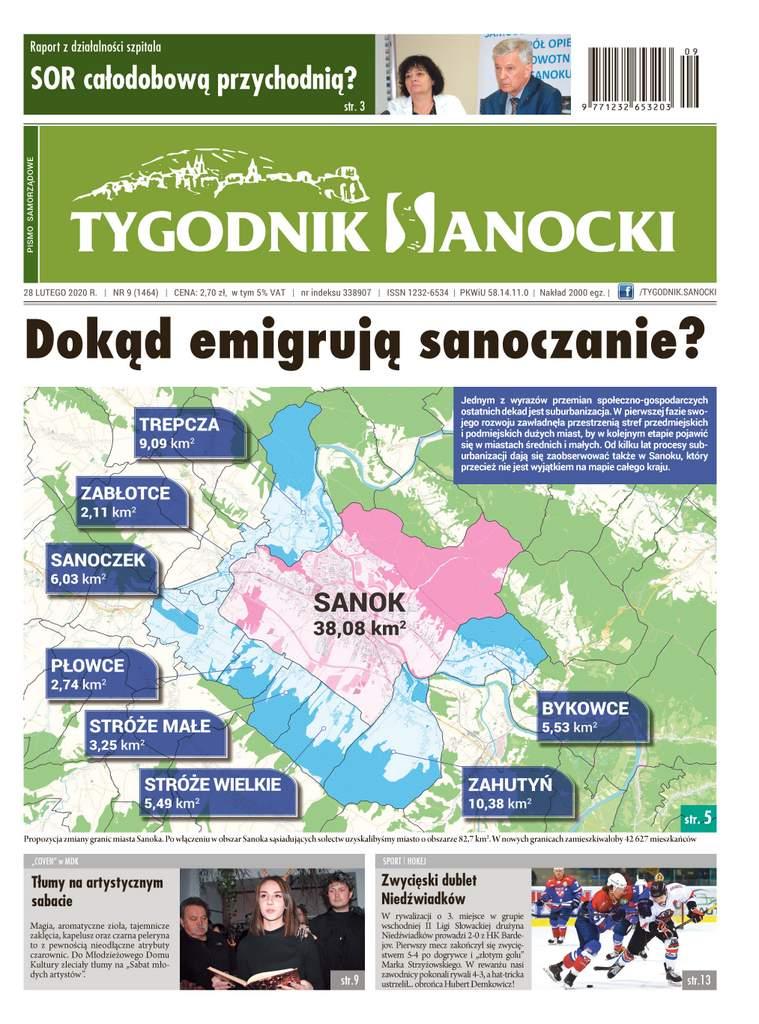 """Dokąd emigrują sanoczanie? - czyli co nowego w """"Tygodniku Sanockim"""""""