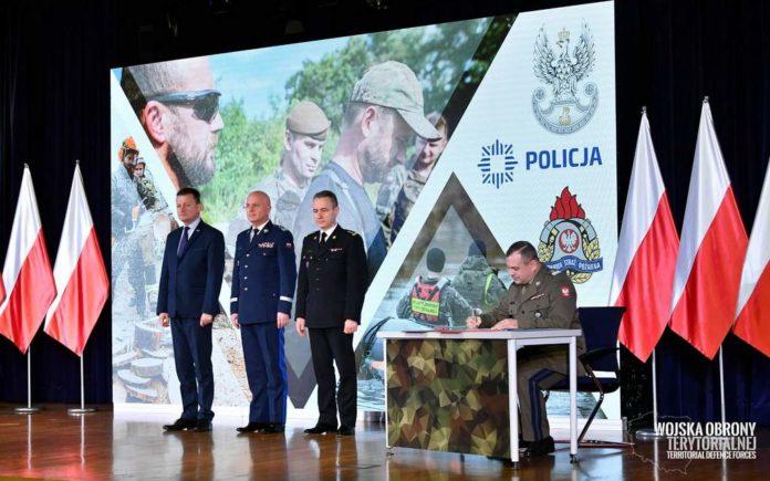 Terytorialsi podpisali porozumienie z PSP i Policją