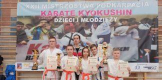 Jakub Oklejewicz zdobył tytuł Mistrza Podkarpacia w zawodach karate