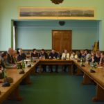 Spotkanie konsultacyjne Zespołu ds. monitorowania i koordynacji działań na terenie miasta Sanoka - w związku z realnym zagrożeniem koronawirusem