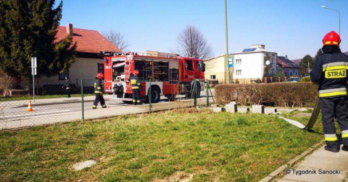 Jak się zachować podczas pożaru.Strażacy zawsze w gotowości