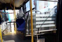 Dezynfekcja autobusów miejskiej komunikacji