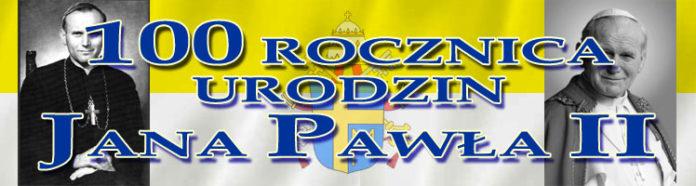 Szkoła Podstawowa nr 6 czci 100 rocznicę urodzin Jana Pawła II - patrona szkoły