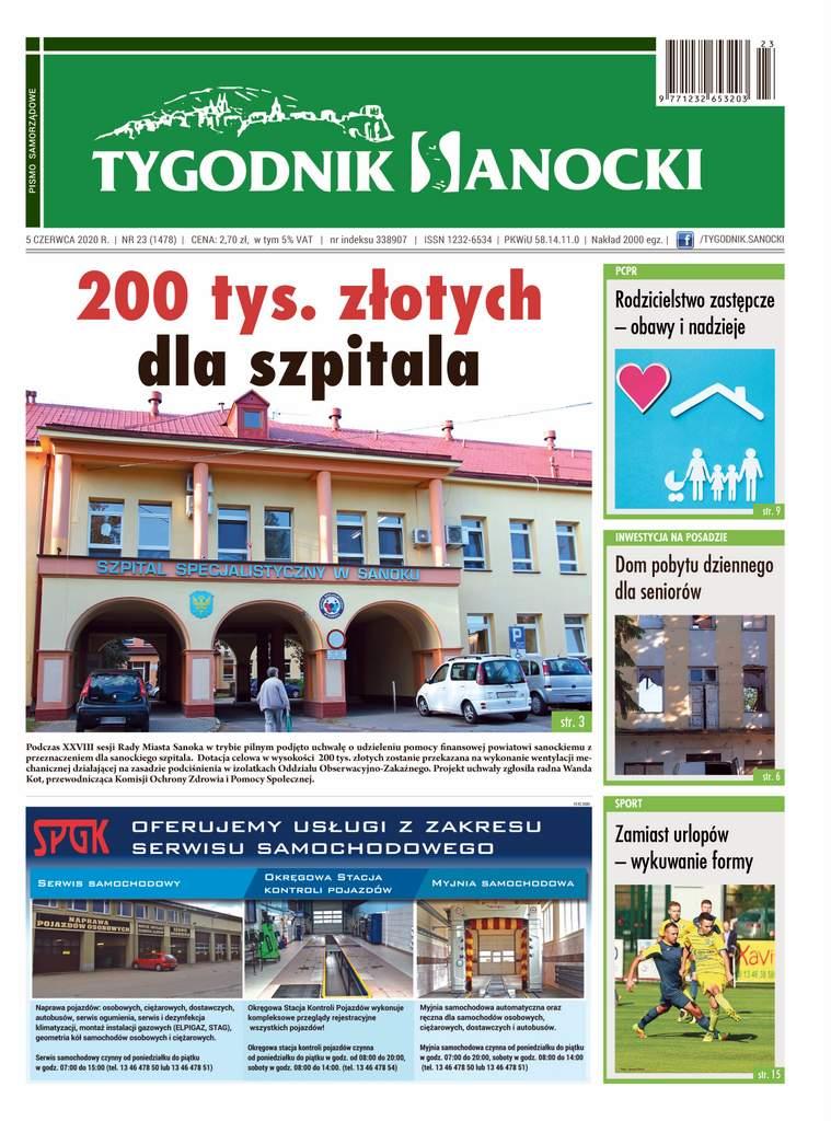 200 tys. złotych dla szpitala - czyli co w nowym numerze Tygodnika