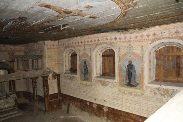 Remont cerkwi św. Mikołaja w Grabówce