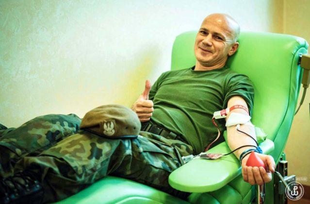 Terytorialsi przelali prawie 30 litrów krwi