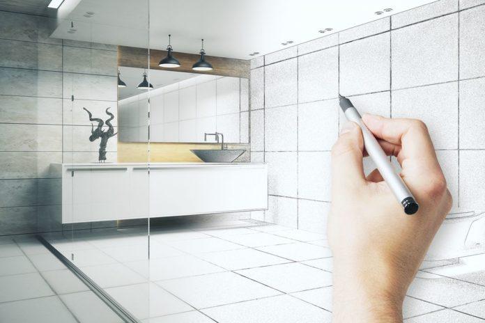 Jak zaprojektować sufit podwieszany w łazience?