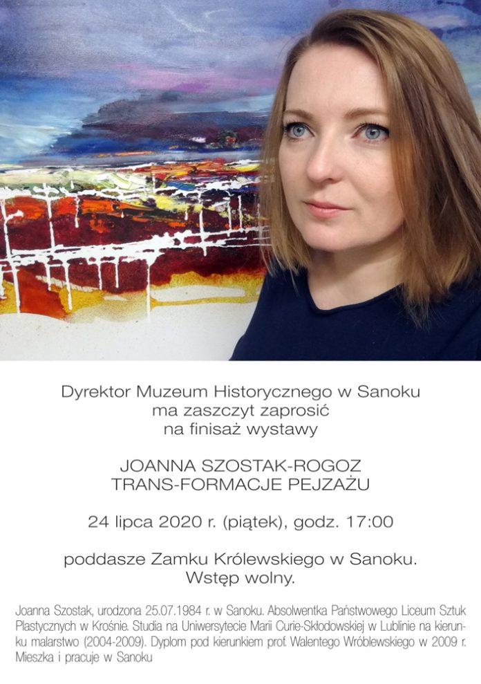 Finisaż wystawy JOANNA SZOSTAK-ROGOZ TRANS-FORMACJE PEJZAŻU