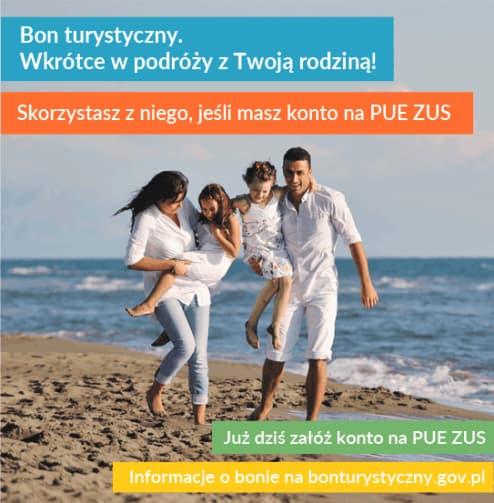Na PUE ZUS rusza rejestracja podmiotów turystycznych do programu Polski Bon Turystyczny