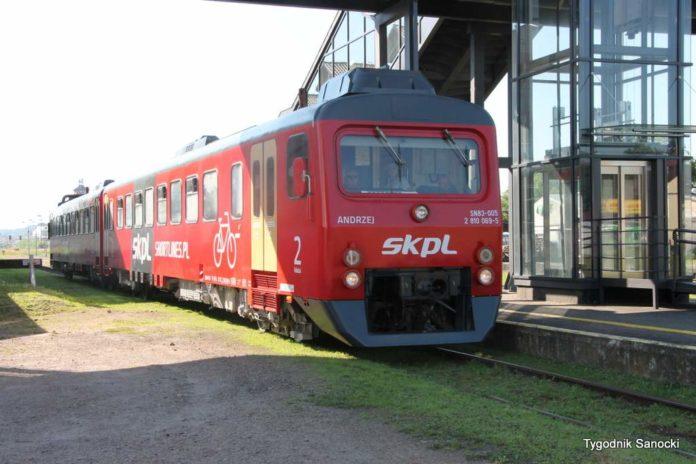 Połączenia kolejowe z Sanoka do Łupkowa