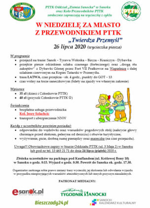 """""""Twierdza Przemyśl"""" - zaproszenie na wycieczkę PTTK"""