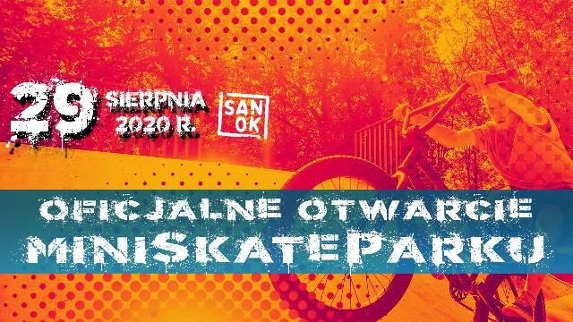 Oficjalne otwarcie Miniskateparku na zakończenie wakacji