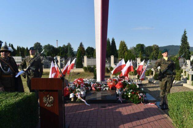 Rocznica Bitwy Warszawskiej – uroczystości na Cmentarzu Centralnym w Sanoku