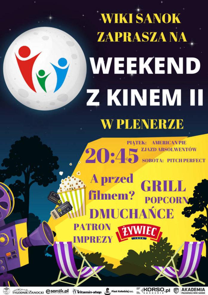 Weekend z kinem, atrakcjami dla dzieci i meczem - WIKI Sanok zaprasza